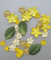 Paper Flowers Marianne D CP8918 yellow/geel