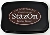 Stempelkussen StazOn 041 timber brown/donker bruin