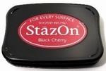 Stempelkussen StazOn 022 Black Cherry