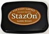 Stempelkussen StazOn 043 saddle brown/bruin