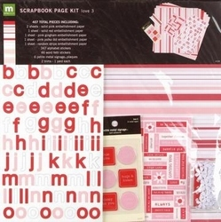 Scrapbooking Papier sets Page kit Valentijn 27229