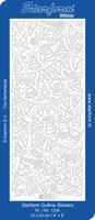 Stickervel Starform Outline 1204 Feestslingers