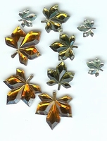 Button Fashion Gems blaadjes