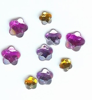 Button Fashion Gems bloemetjes