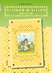 Leane Creatief Sticker-O-Stitch® met Dylan® & bloemen