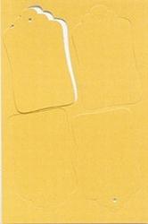 LeCreaDesign Label set 950.4710 geel