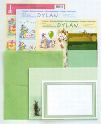 LeCreaDesign Sticker-O-Stitch Dylan 61.4437 kit Groen