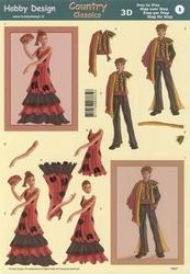3D Knipvel Hobby Design 73021 Folklore