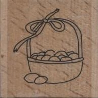 Create Craft houten stempel Eiermandje