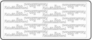 Peel-Off's stickervel Franse tekst 4602 Bon Rétablissement