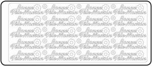 Peel-Off's stickervel Franse tekst 4604 Bonne Fête Maman