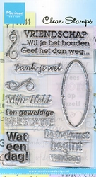 MD Clear stamps CS0824 Dank je wel