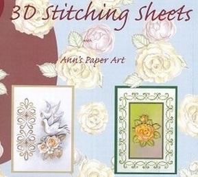 Ann's Paper Art Borduur boekjes ea