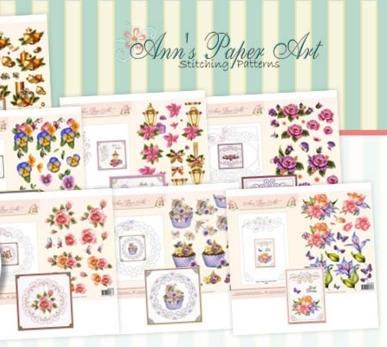 Ann's Paper Art Borduur/knipvel
