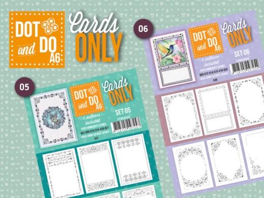 Cards Only 4-kant & A6/Dots oplegvellen